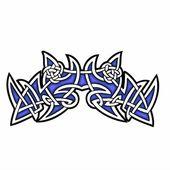 Celtic ornamental design. — Stock Vector