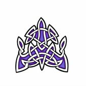 Celtic ornamental design. — Stockvektor