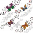 Butterflies. - Stock Vector