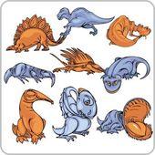 Dinosaur. — Stock Vector