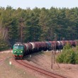 Freight fuel train — Stock Photo #2994688