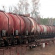 Freight fuel train — Stock Photo #2994836