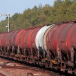 Freight fuel train — Stock Photo #3010535