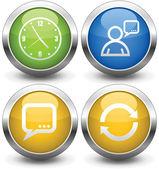 Buttons — Wektor stockowy