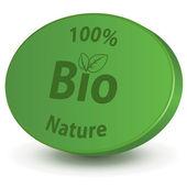 Symbol Bio — Stock Vector