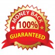 Money Back Guaranteed — Stock Vector