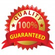 Quality Guaranteed — Stockvectorbeeld
