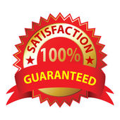 Satisfaction Guaranteed — Stock Vector