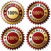 Satisfaction Guaranteed — Stock Vector