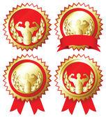 Medal — Stock Vector