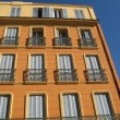 Stock Photo: Old provence building frontage