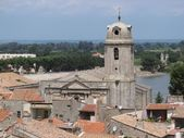 Bell tower in Arles — Stock Photo