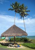 Outdoor resort beach — Stock Photo