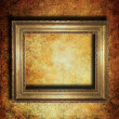 Stock Photo: Old wooden frame