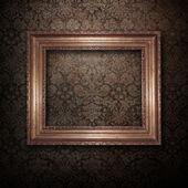 Zlatý rám — Stock fotografie