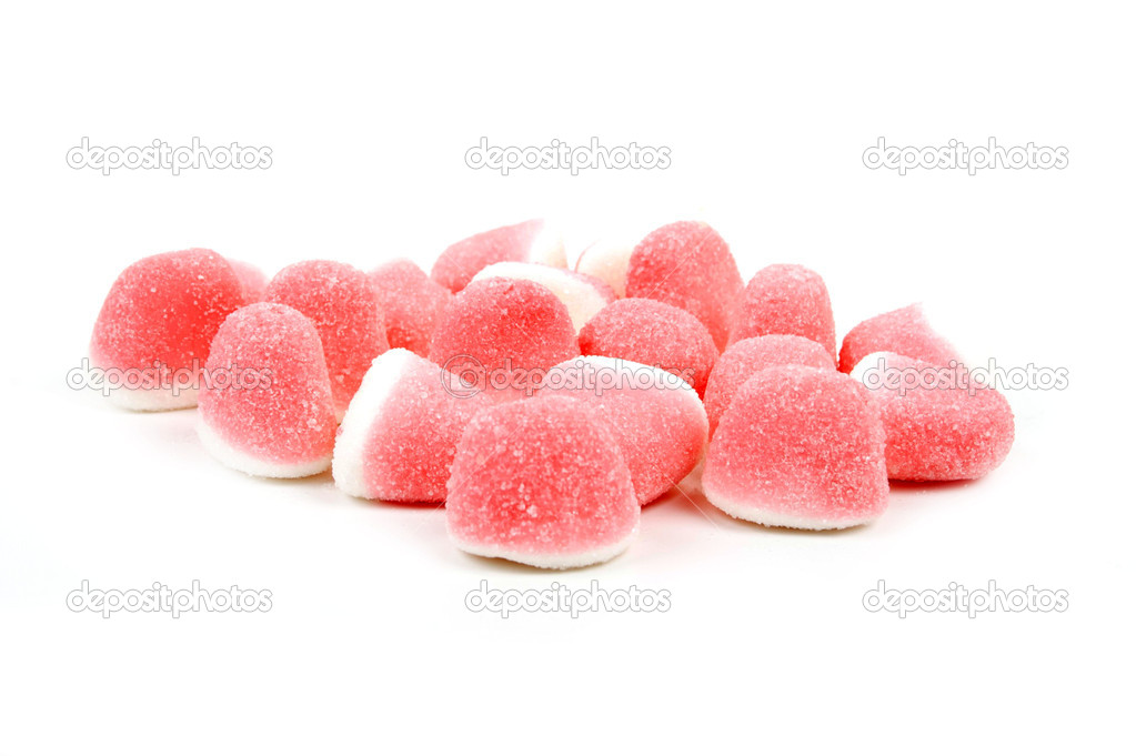 Pink and white sweet candy  — Stock Photo #3045654
