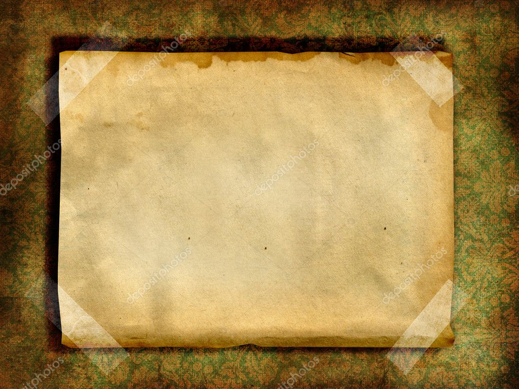 Vintage blank page — Stock Photo © gabyfotoart #3045700