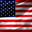 American Flag — Stock Photo #3287578