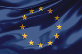 European Union Flag - UE — Stock Photo