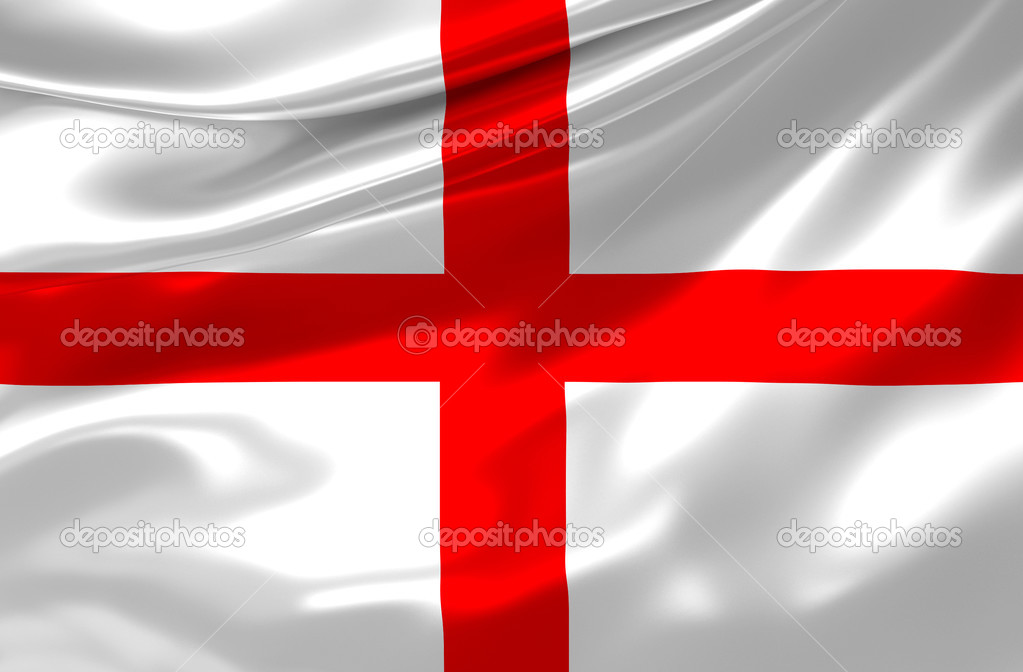 Satin British Flag — Stock Photo #3287581