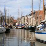Постер, плакат: Yachts in Groningen Netherlands
