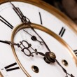 Stock Photo: Old clock.