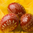 Easter eggs. - Stock Photo