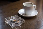 Nicotine and caffeine. — Stock Photo
