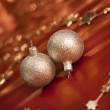 Stock Photo: Christmas balls.