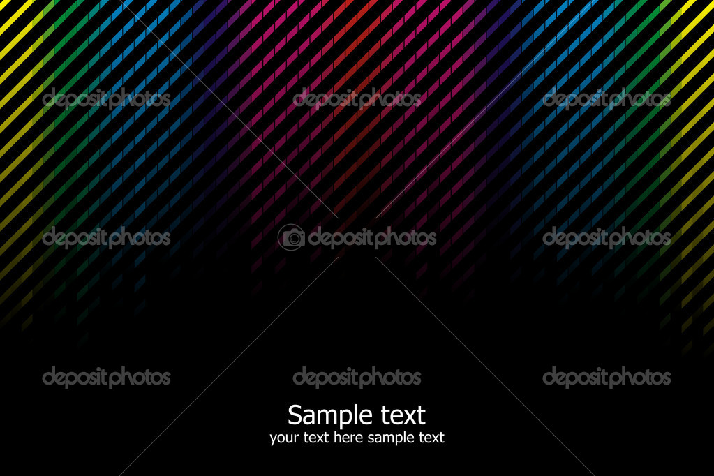 Abstract rainbow colours background. Modern vector illustration. — Stock Vector #3052945