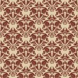 Royalty-Free Stock Obraz wektorowy: Retro seamless wallpaper