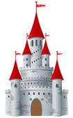 Sprookjesachtige kasteel — Stockvector