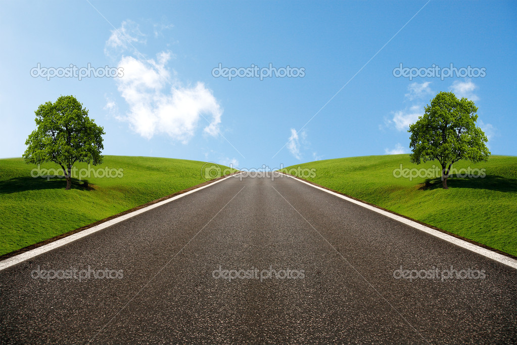 Wide Road — Stock Photo #2816349