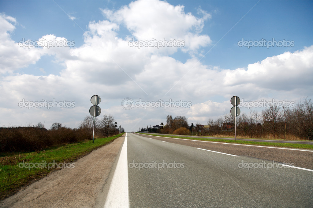Road ahead — Stockfoto #2822730