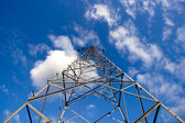 Electrical power mast — Stock Photo