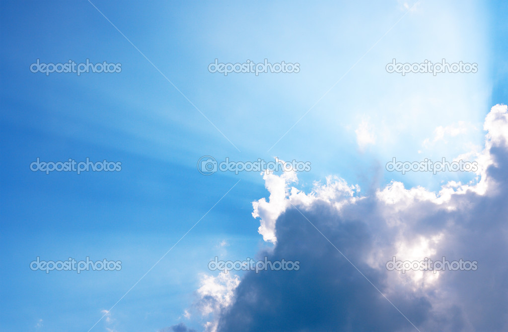 Sunny sky — Stock Photo #2832961