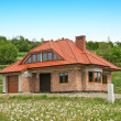 New House construction - Stockfoto