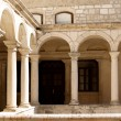 图库照片: Courtyard of Temple-Zadar