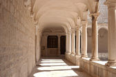 Courtyard of a Temple-Zadar — Foto Stock
