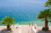 Adriatische strand — Stockfoto