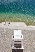 Nice Adriatic beach — Foto Stock