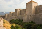 Walled City of Dubrovnik, Croatia — Stock Photo