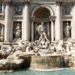 Trevi Fountain, Roma — Stock Photo