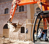 Large earth moving heavy equipment — Stock Photo
