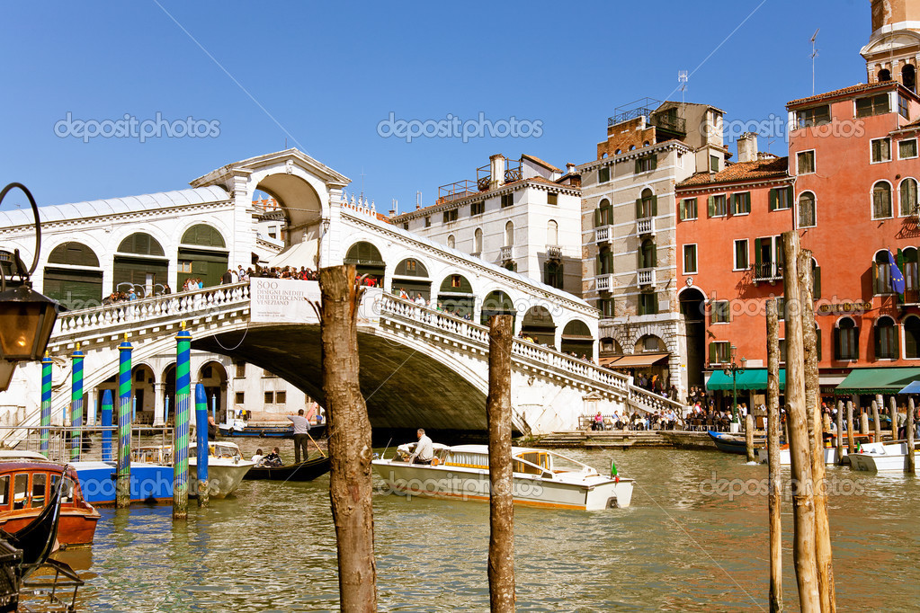 Grand Canal in Venice, Italy — Stok fotoğraf #2920974