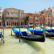 A classic view of Venice with canal and old buildings, Italy — Stock Photo #2946763