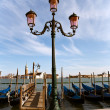 Street lamp, Venice — Stock Photo