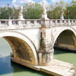 Sant'Angelo's Bridge - Stock Photo