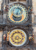 The Prague Astronomical Clock — Stock Photo