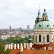 Beautiful tourist town - Prague - Stockfoto